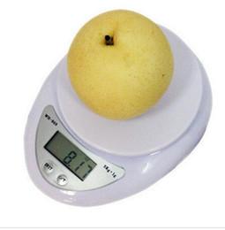 Canada Nouveau grammes échelle Numérique Électronique Cuisine Alimentation Poids Blance LED Échelle 1g-5kg 5000g WH-B05 Livraison gratuite supplier electronic balance scale Offre