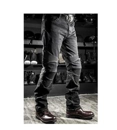 Wholesale Women Windproof Jeans - Free Shipping NEW new Men Women Fashion Jeans Motorcycle Jeans Racing Pants KOMINE motorcycle With Xx Cushions zz