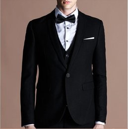 Wholesale High End Tuxedos - the most popular fashion gun led single row two buttons high-end rispectable status men business suits the wedding party