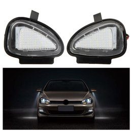 Wholesale Volkswagen B7 - 20Pair LOT LED Under Side Mirror Lamps for VW Golf 6 Cabriolet Passat (B7) Touran Free shipping