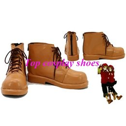 Wholesale Vocaloid Kagamine Len - Wholesale-Freeshipping Wholesale Anime sexy Vocaloid Kagamine Rin & Len Cosplay Shoes Cosplay shoes Anime cosplay boots New Ver