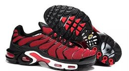 Wholesale Max Tn Shoes - Free Shipping New Arrival max Plus Mens TN Running Shoes Sport Sneakers Trainers Athletics Footwear Shoes red black