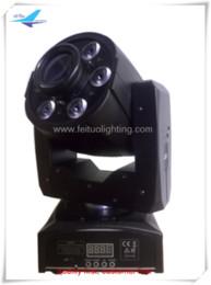 Wholesale New Led Moving Head - 8pcs lot New Design 4in1 1*30W Led Spot+6*8W Wash Led Moving head beam light