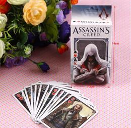 Wholesale Assassins Creed Toys - Assassins Creed Poker beautifully boxed cartoon games Card storage