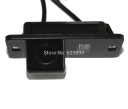 Wholesale Bmw E46 Lights - Car CCD Reverse Rear View License Plate Light Parking Back Up Camera For BMW E39,E53,E82,E88,E90N,E60N,E61N,X3,X5,X6,M3 E46
