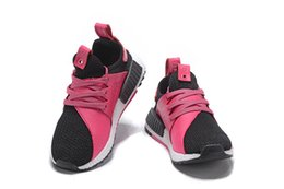 Wholesale Cute Table Tennis - Newest Cheap Girl NMD Ultra Boosts Women Cute Pink Soprt Running Shoes Top quality Free Shipping With Boxes
