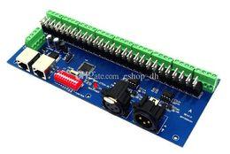 Décodeur de canal dmx en Ligne-dmx 512 27 canaux Easy DMX contrôleur de décodeur LED dmx512 décodeur controlador console dmx