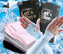 Wholesale Driving Gloves Woman - 5 Pieces Start Sale Summer Sunscreen Sleeves Rider Drive Ran Half Mittens Outdoor Activities Long Arm Anti UV