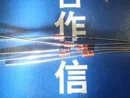 Wholesale Precision Resistance - Wholesale- 20PCS LOT 20 glass sealed thermistor 10K MF58 precision B value: 39505% pine resistance resistor