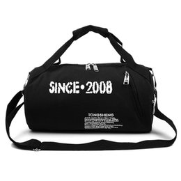 Wholesale Handbag Sports - Wholesale-2016 Hot Sale Fashion Vintage Fitness Bag Women Sport Bag Men Traning Shoulder Gym Bag Outdoor Sport Canvas Handbag