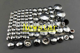 Wholesale Chrome Fairings - Free Shipping Brand New Motorcycle Fairing Bolt Chrome Bolt Caps Topper Cover For Harley Davidson Softail Twin Cam 2007 - 2012