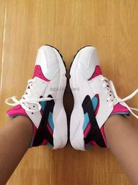 Wholesale Canvas Shoes For Low Price - 2017 Huarache Trainers for Women High Quality Huaraches Running Shoes Fashion Outdoor Women's Sneakers Factory Price Fast Shipping 36-40