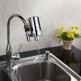 membranas de filtro Desconto 2016 venda quente 1 pc nova purificador de água da torneira torneira da cozinha de uso doméstico filtro de água ferramenta de purificação de água