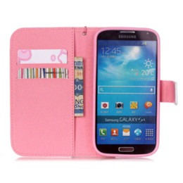 Wholesale Style Galaxy S4 Cases - Covers For S4 mini Protective Shell Fashion Style PU Leather Flip Phone Case Cover For Samsung Galaxy S4 Mini i9190 With Wallet