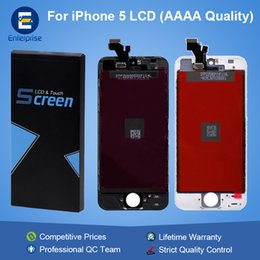 Wholesale factory replacement parts - Factory Price Grade AAAA Shenchao For iphone 5 5G 5C 5S SE LCD Display Screen Digitizer Touch Panel Assembly Replacement Part No Dead Pixels