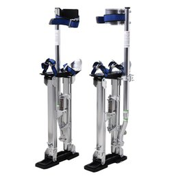 Wholesale Aluminum Paints - Silver 24-40 Inch Drywall Stilts Aluminum Tool Stilt For Painting Painter Taping