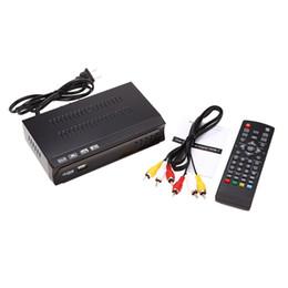 Wholesale Digital Terrestrial Tv Receiver - Digital Video Broadcast TV Receiver Integrate Services H.264  MPEG-2 4 Full HD 1080P HDTV ISDBT Terrestrial Receiver Set-top Box