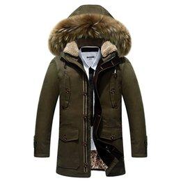 Wholesale Helly Hansen Men - Wholesale- 2016 Down a short section of thick winter coat men's jacket collar Nagymaros piumino men helly hansen 8201