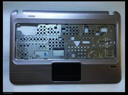 Dm4 laptop on-line-Original Para HP Pavilion DM4-1000 DM4-2000 laptop palmrest capa com touchpad Leitor de Impressão Digital 6070B0440901 608224-001