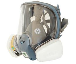 Mascheramento a spruzzo online-All'ingrosso-2016 nuovo vestito pittura a spruzzo per 6800 maschera antigas viso pieno facciale respiratore SJL maschera viso pieno con cartuccia di vapore organico