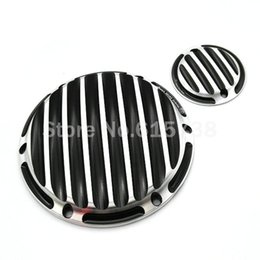 Wholesale derby cover - Motorcycle CNC Deep Cut Derby Timing Timer Covers Cover for Harley Davidson Sportster XL883 XL1200
