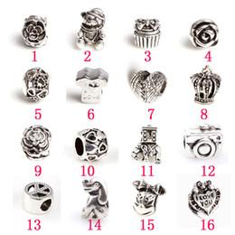 Wholesale Diy Variety - Variety Beads fit European style DIY jewelry Pandora Style