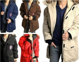 Wholesale Rich Coats - New Wool rich Brand Men's Arctic Anorak Down jackets Man Winter goose down 90% Outdoor Thick Parka Coat winter warm outwear