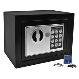Wholesale Homes Safes - Durable Digital Electronic Safe Box Keypad Lock Home Office Hotel Gun Black