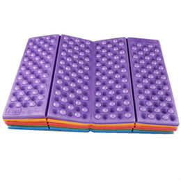 Wholesale Folding Camp Chairs - Foldable Folding Outdoor Camping Mat Seat Moisture proof XPE Cushion Portable Waterproof Foam Pads Yoga Chair Picnic Beach Pad