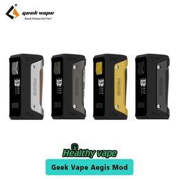 Wholesale Wholesale Fire Box - Original Geekvape Aegis TC Box Mod UP to 100W without Battery Quick Firing Waterproof Geek Vape Mod