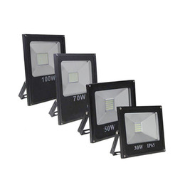 smd projecteurs Promotion Projecteurs à led 10W 20W 30W 50W 70W 100W SMD 5730 Lumière extérieure étanche IP66 Led lampe de paysage CA 85-265V