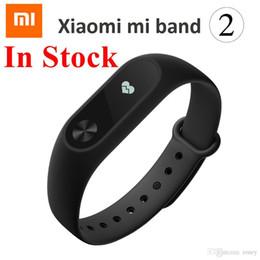 telefon 4.4 Rabatt Original Xiaomi Mi Band 2 Puls Smart Armband OLED 0,42 Zoll Pulsmesser Smart Armband für Android 4.4 iOS 7.0 IP67