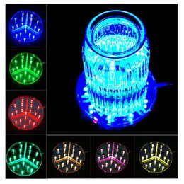 Wholesale Wedding Centerpieces Vases - Multi-colors 6inch LED Display Light 15CM Table Led Vase Light Base with Remote Control Party Wedding Centerpieces Decoration lighting