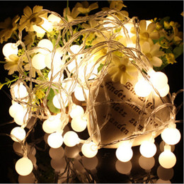10M Led String Lights 100led Ball AC220V 110V Holiday Wedding Patio  Decoration Lamp Festival Christmas Lights Outdoor Lighting