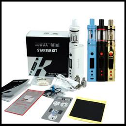 Wholesale E Cigarette Kanger Kits - Hot selling Kanger SUBOX Mini Starter Kit 1:1clone Kangertech 0.3ohm OCC Subtank Mini 50W Kbox Mini with OLED Screen E-cigarette Kits