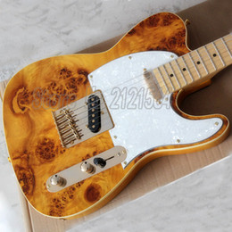 Wholesale Electric Guitar F Tl - High Quality TL electric guitars Tele GUITAR Maple Fingerboard 22 F 100% reals F TL MUSICAL