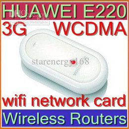 Wholesale Unlock Networks - HUAWEI E220 Wireless Routers 3G HSDPA UNLOCKED wifi network card WCDMA gsm support android 3G-1