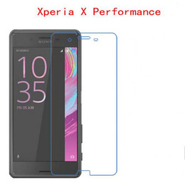 Wholesale performance mirror - Tempered Glass For SONY Xperia X Performance F8132 phone film Phone Protective Phone film touch screen protector
