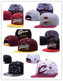Wholesale Fitted Caps For Cheap - Wholesale Cleveland Adjustable Snapback Hat Thousands Snap Back Hat For Men Basketball Cap Cheap Hat Adjustable men women Baseball Cap