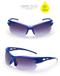 Wholesale Grace Wholesale - UV400 Outdoor Sports Sunglasses Eyewear Driving Bicycle Bike Graced Glasses Explosion-proof Security Sports Protective Sunglass Goggle