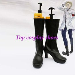Wholesale Inori Yuzuriha Cosplay - Wholesale-Freeshipping custom-made anime GUILTY CROWN Inori Yuzuriha Cosplay Boots shoes for Halloween Christmas festival