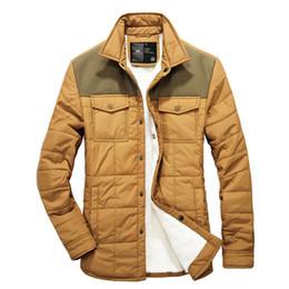 Wholesale Life Jackets Pockets - 2015 new winter men jacket thick wool coat fashion pockets warm casual jacket Color stitching male life jackets coat outwear