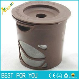 Wholesale Wholesale K Cup - Hot New arrived Clever Coffee Capsule Reuseable Single Coffee Filter Keurig k-cup Free Shipping