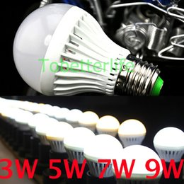 bubble lights free shipping Coupons - A60 A19 E27 LED Light Bulbs SMD5730 3w 5w 7w 9w 12w LED Globe Bubble Lights Lamps AC85-265V Plastic WW TW Free Shipping