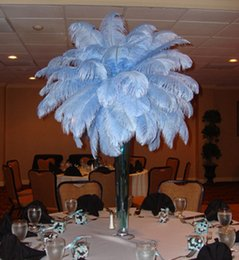 Wholesale Wholesale Inch Fairies - AAA quality 100pc 6-12 inch White color Ostrich Feather Plume for flower ball wedding party centerpieces table decoration