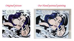2019 pintura da mão da arte famosa Pop art moderno pinturas a óleo sobre tela 100% pintados à mão como filme esporte música estrela pessoas famosas pintura para sala de estar desconto pintura da mão da arte famosa