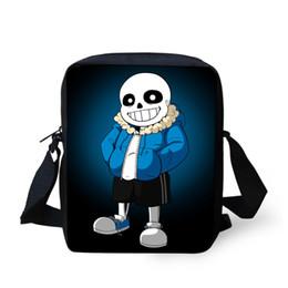 Wholesale Best School Bags For Girls - Cute 3D Cartoon Undertale School Bags for Boys Girls Children Shoulder Book Bag Mochila Kids Anime Small Schoolbag Best Gifts