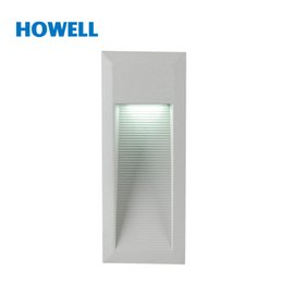 Wholesale Recessed Patio Lighting - Wholesale-HOWELL15 LED 1.2W SMD LED Recessed lights wall lamp Waterproof IP65 Patio Deck Yard Garden Home Driveway Stairs Porch CE RoHS