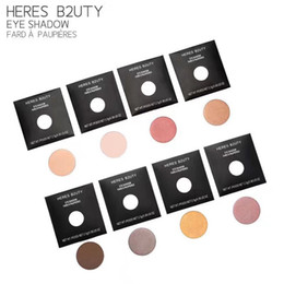 Wholesale Waterproof Matches Wholesale - Pro Pan Refill Single Eyeshadow Mineral Eyeshadow & Daily Natural Type Free Match Brand HERES B2UTY 10pcs