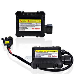 Wholesale Digital Ballast Kit - 2 pcs Slim HID 55W Xenon Replacement Electronic Digital Conversion Ballast Kit for Automobiles Car 12V